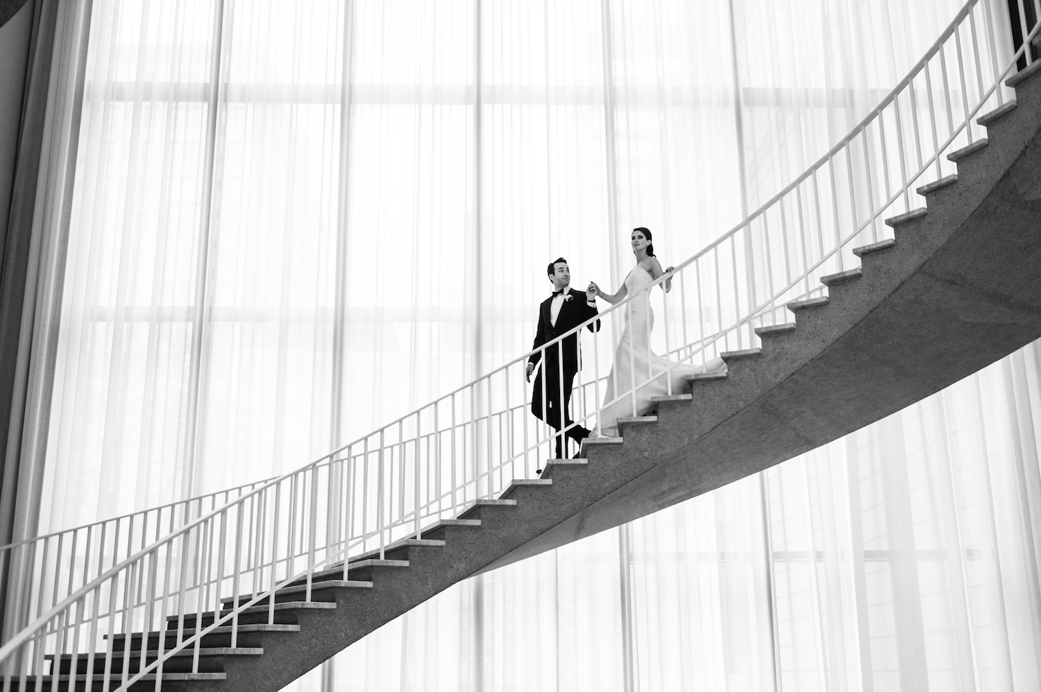 Wedding at the Art Institute of Chicago
