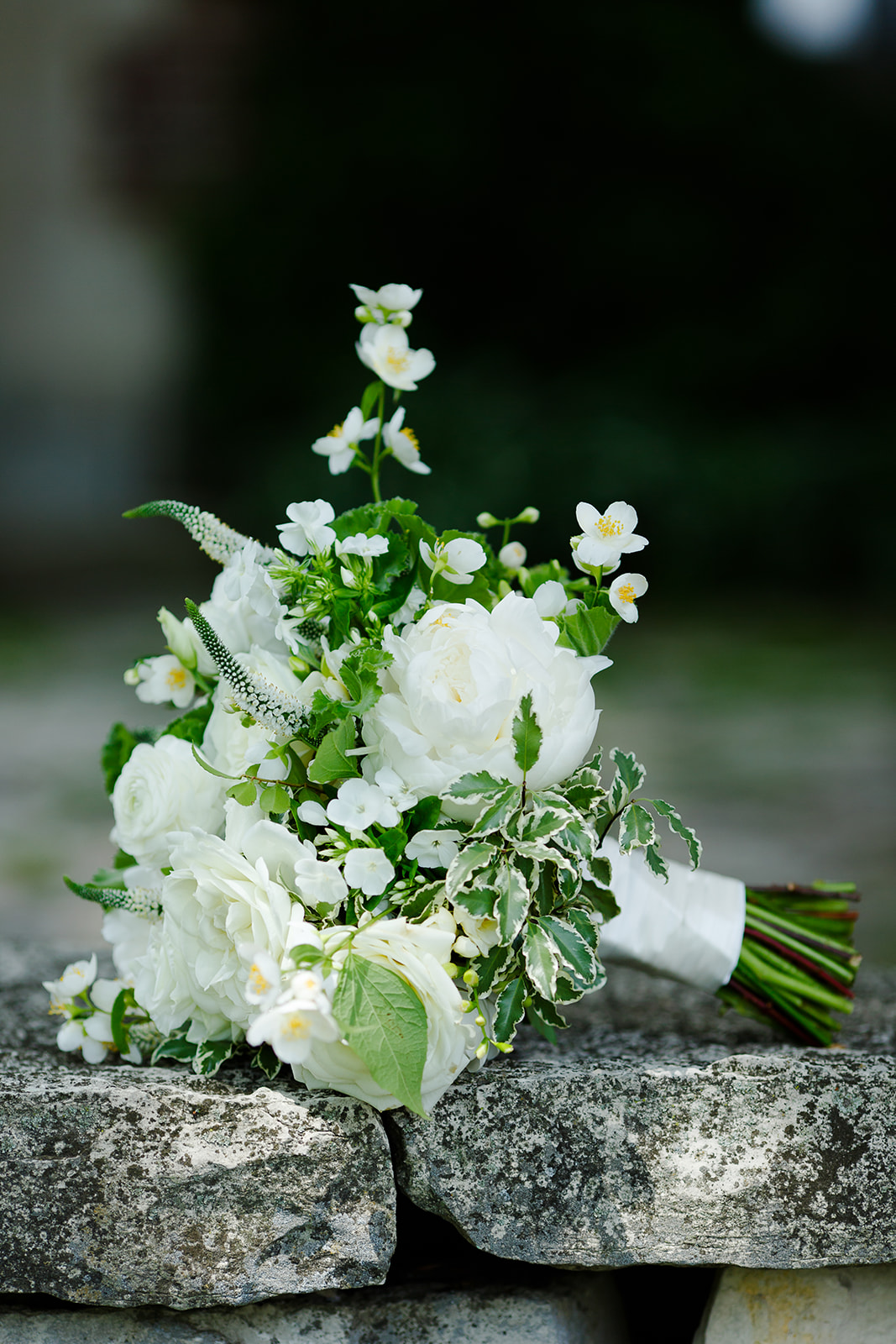 Bridal bouquet by HMR Designs at Riverbend