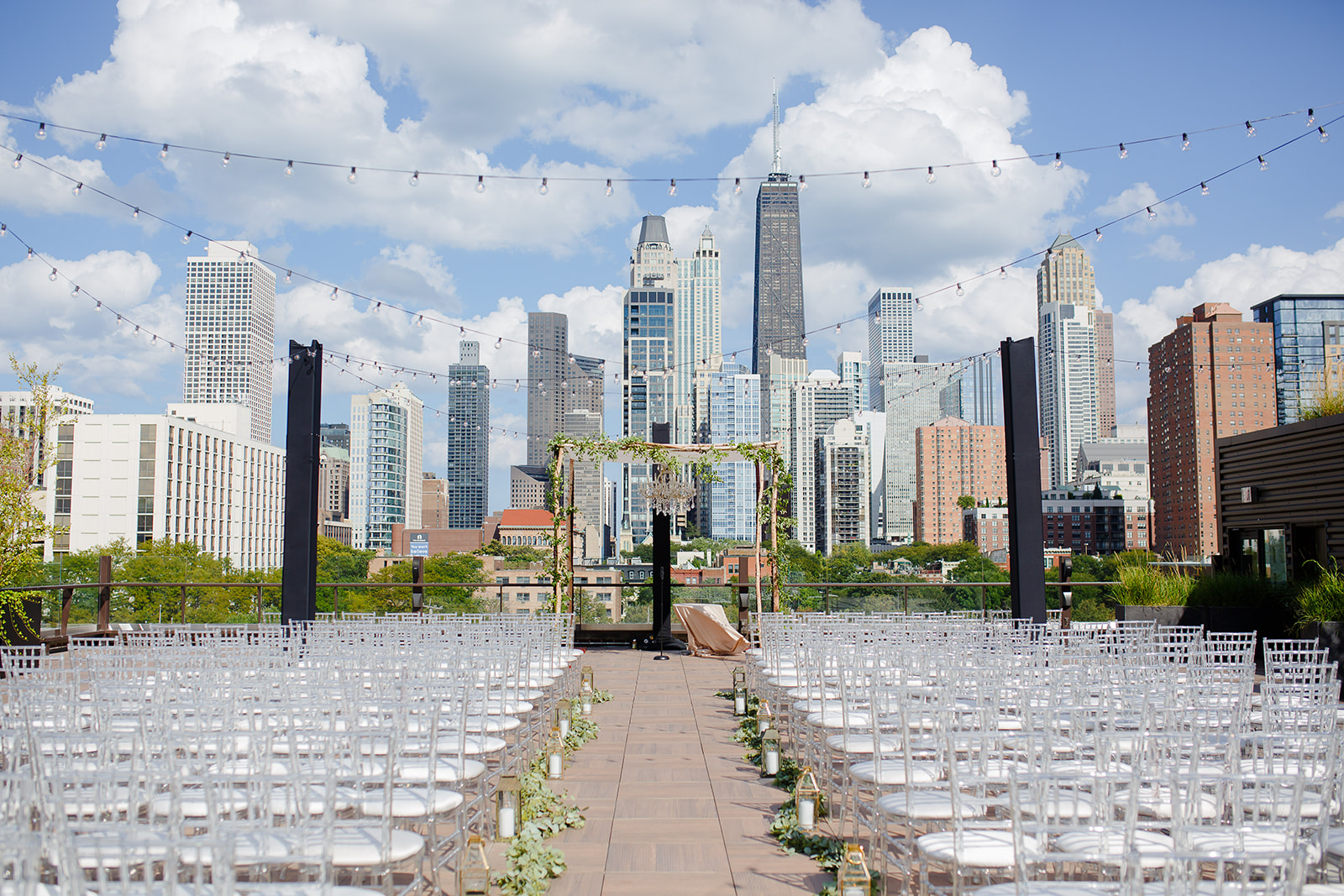 Tiffany Munster of Soiree Events planned this perfect party in Chicago's River North.