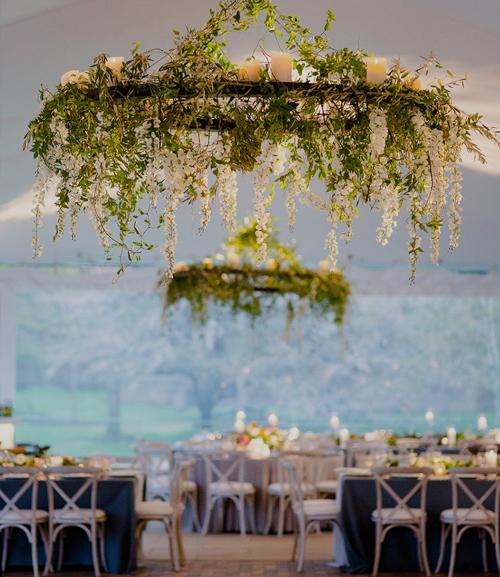 Watercolor inspired wedding - chicago botanic gardens