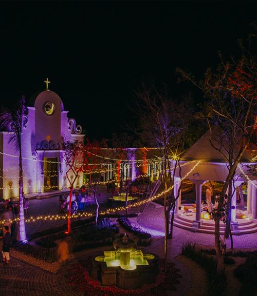 dazzling indian wedding in mexico - fairmont mayakoba riviera maya, mexico