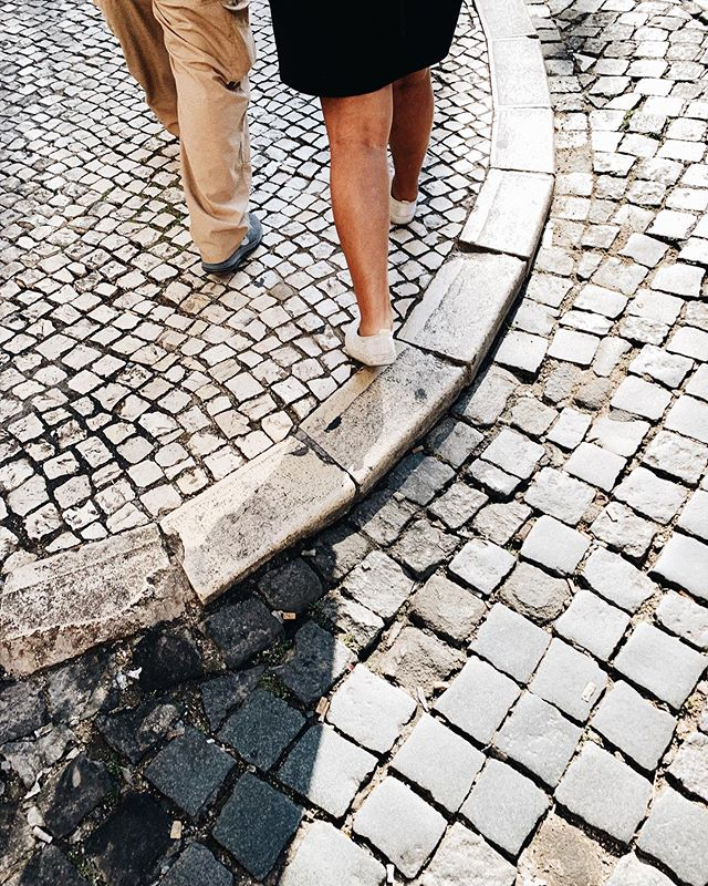 streets made for walking (and slipping)
