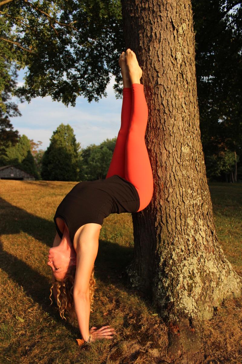Kristen Nussbaum Yoga Pose