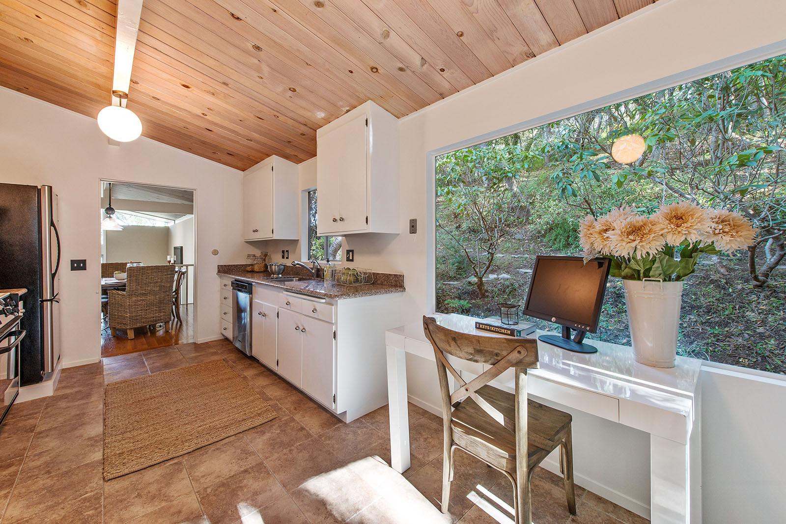 Kitchen desk to dining room.jpg