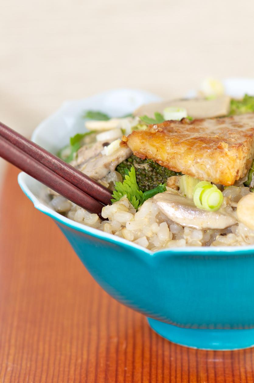 Brown Basmati Rice, garlic tempeh.jpg