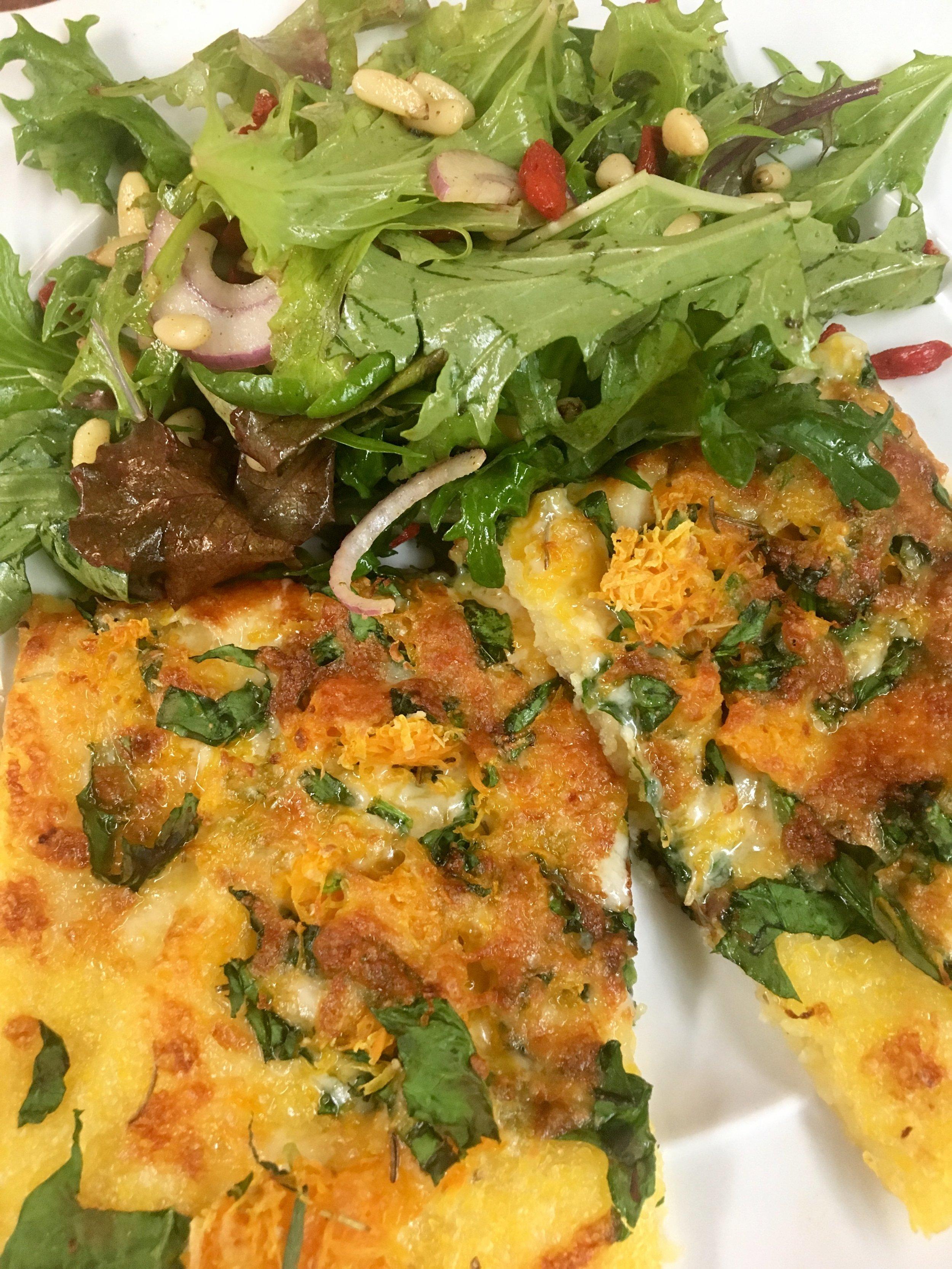 Pizza Night! Squash & Greens & Cheese.jpg
