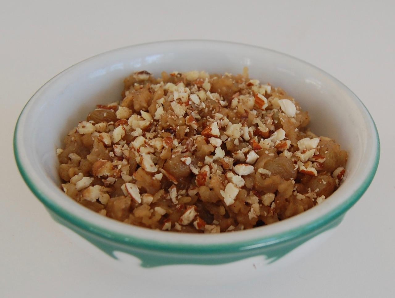 Rice Pudding w honey%2c nuts & dried fruit.JPG