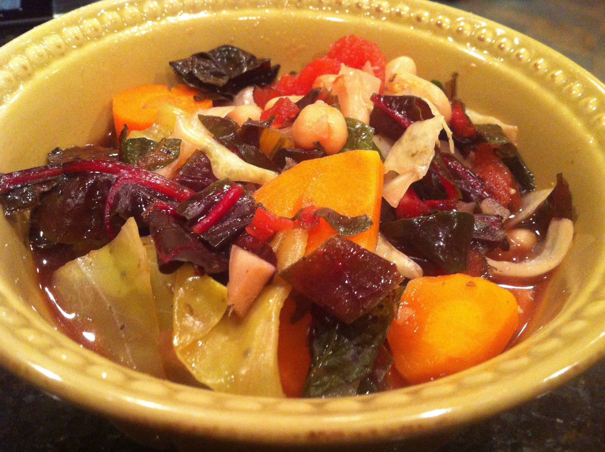 Vegetable Soup w Roasted Garlic.JPG