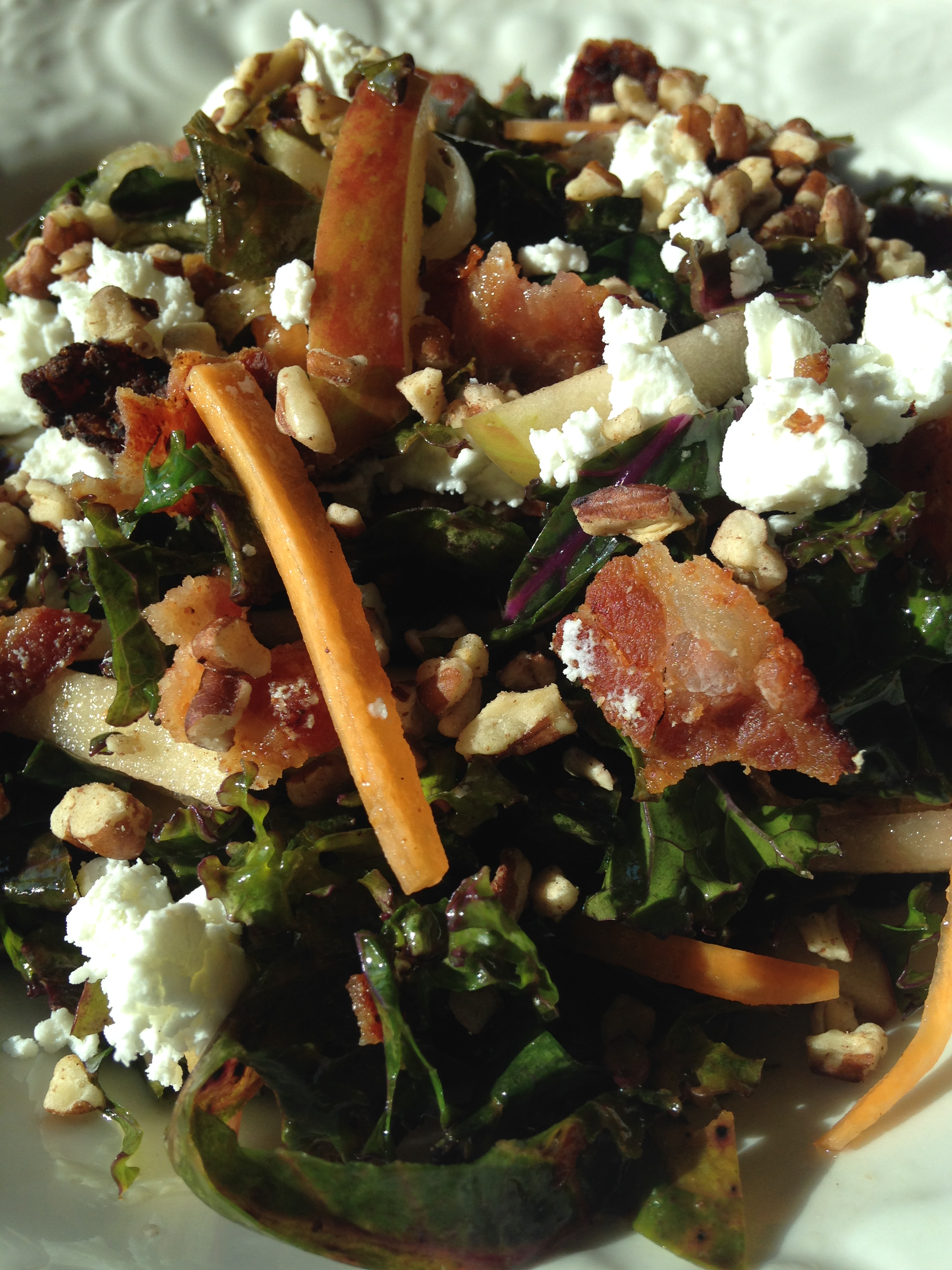 Kale Salad w Warm Bacon Dressing.JPG