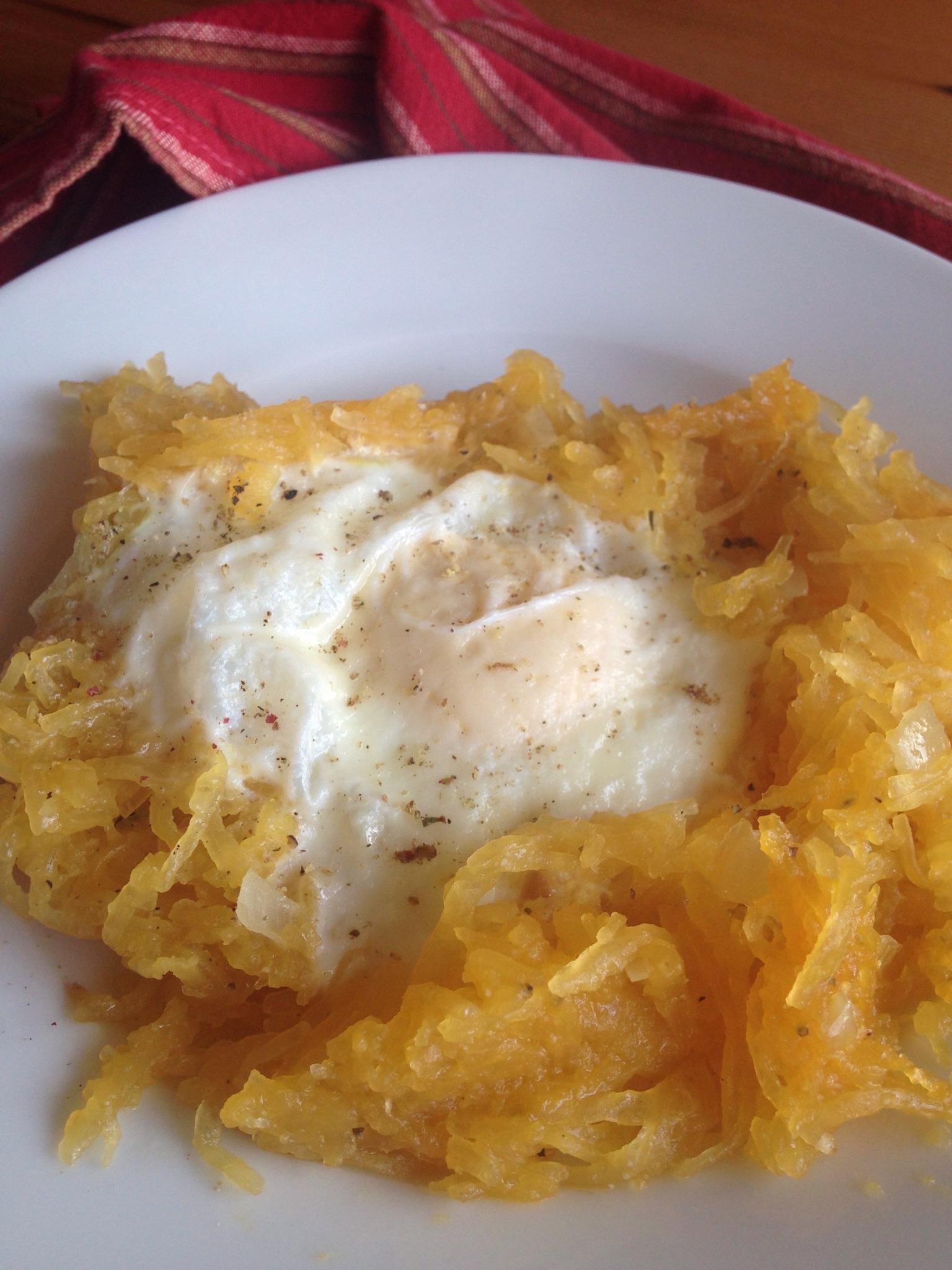 Eggs in Spaghetti Squash Nests.JPG
