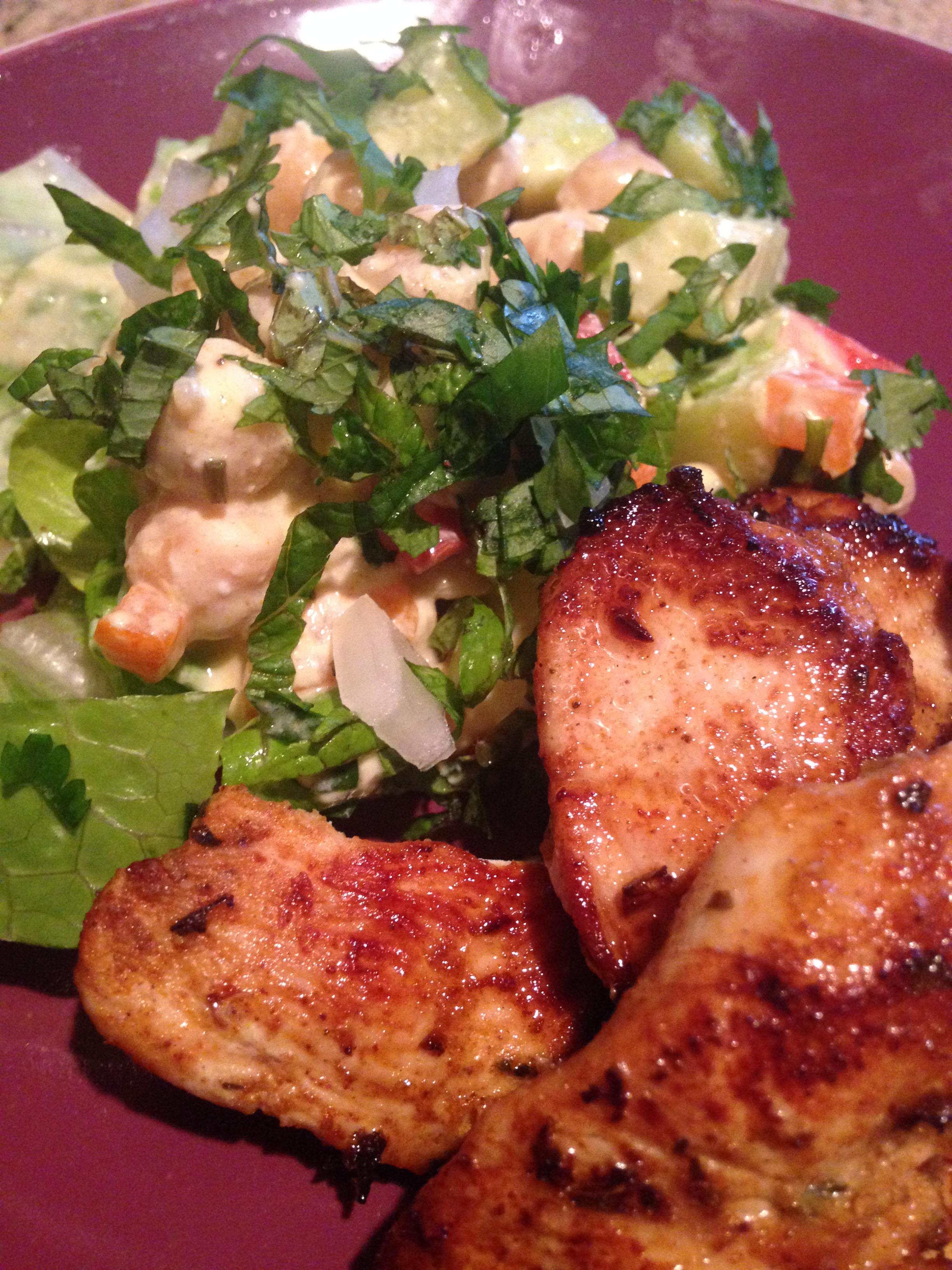 Street Cart Chicken w Chickpea Salad.JPG