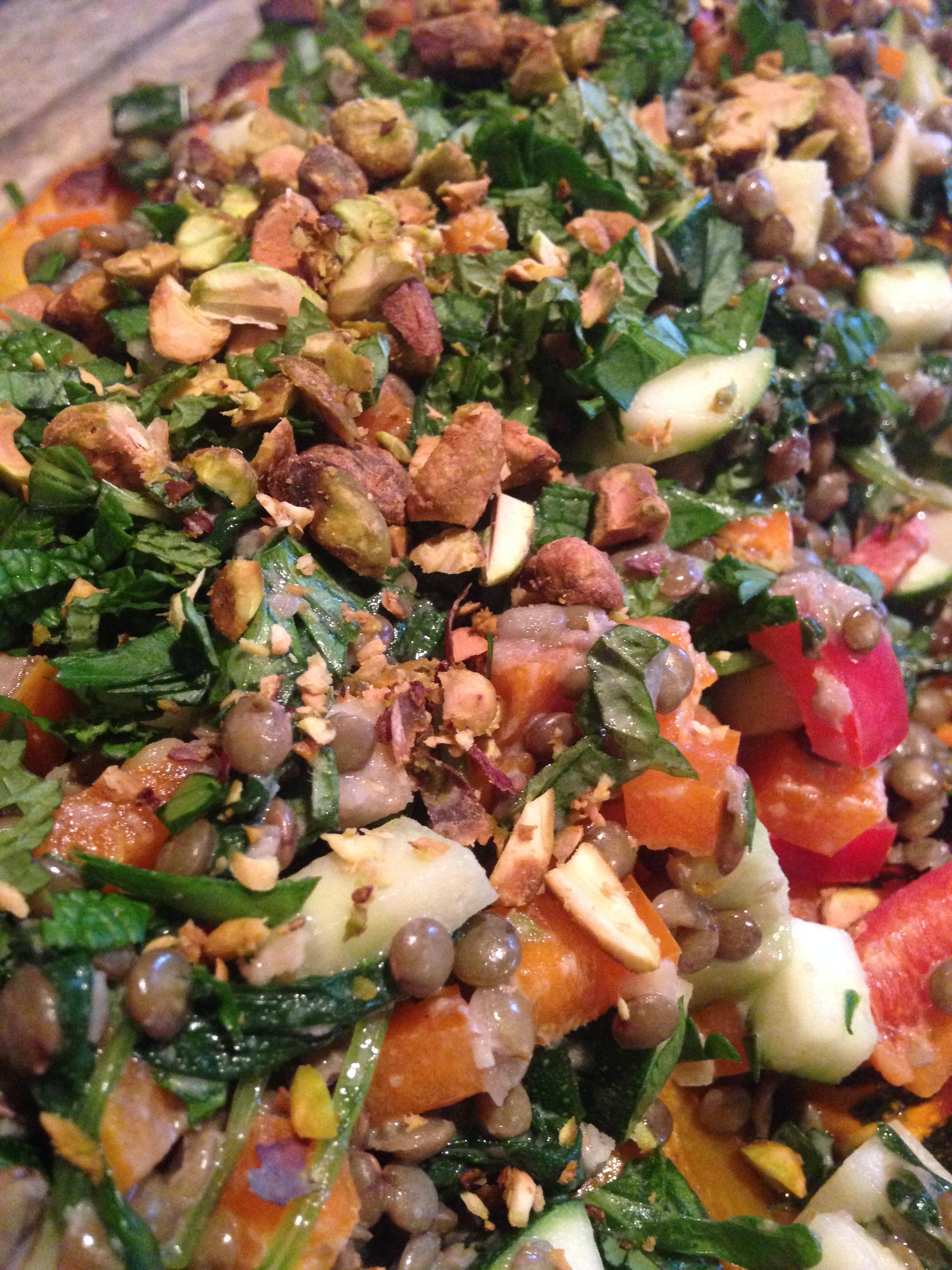 Warm Lentil Salad w Tahini Dressing.JPG