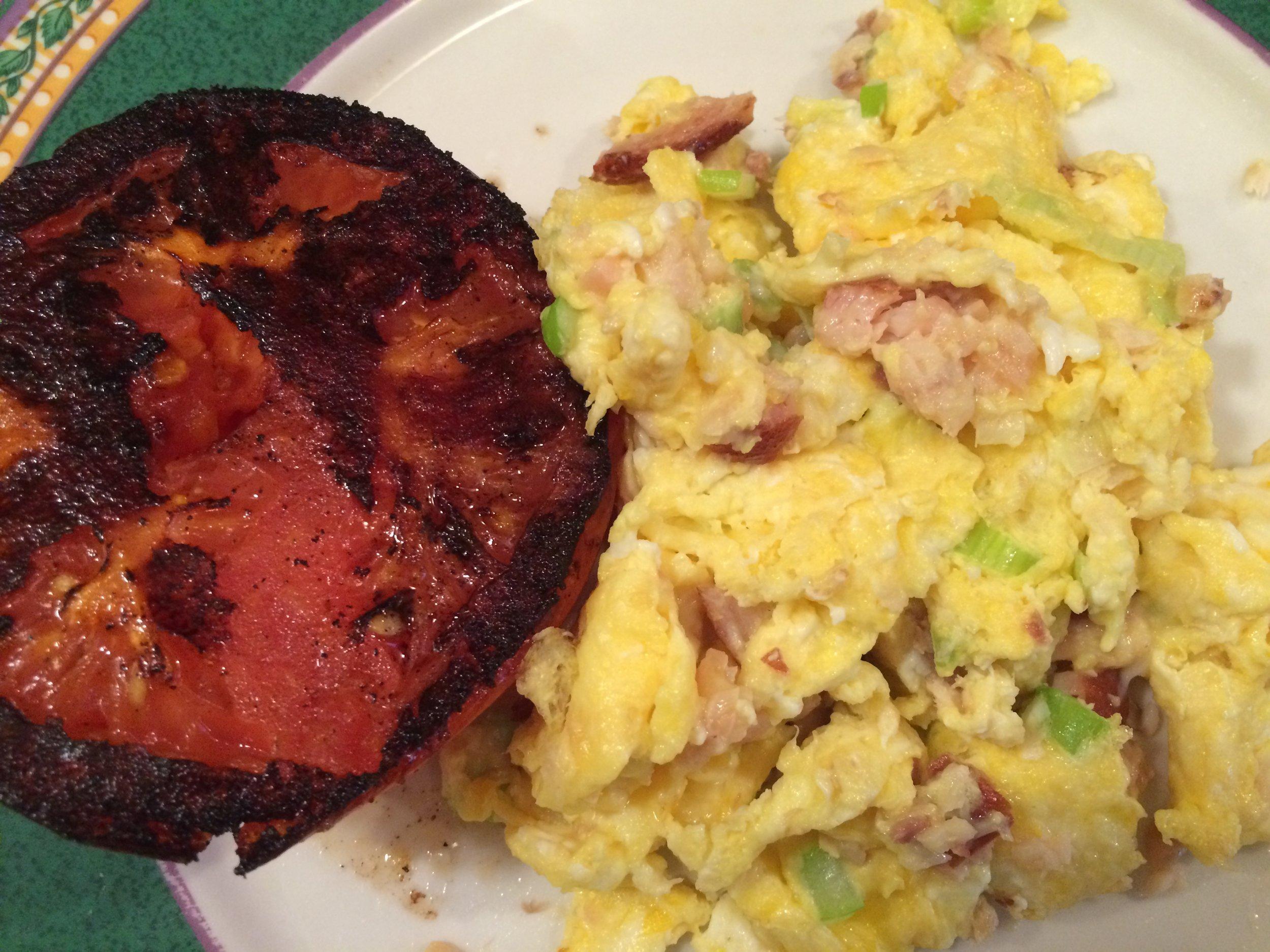 Eggs w Smoked Salmon & Fried Tomato.JPG