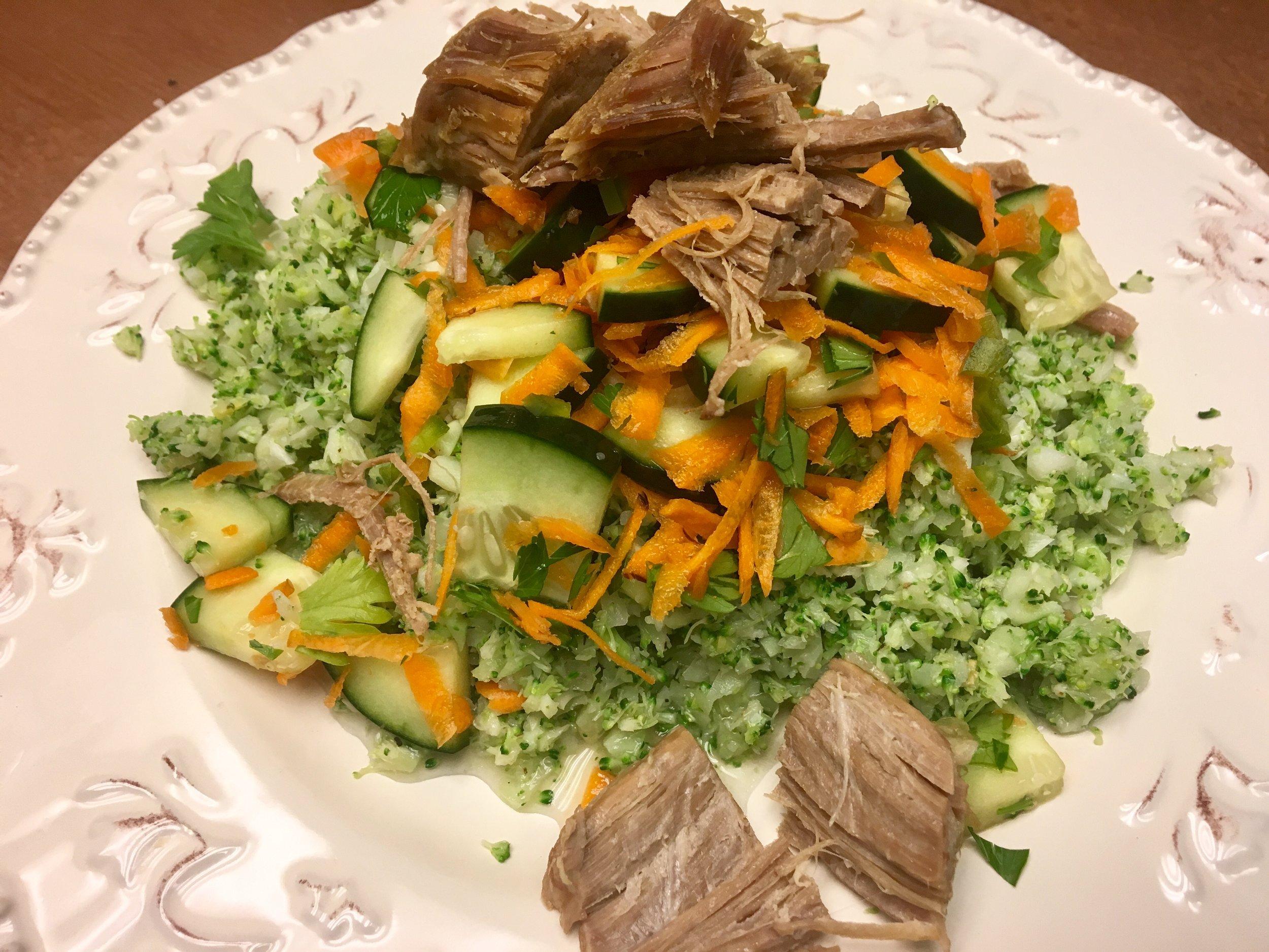 Pork Stir-Fry w Broccoli Rice.JPG