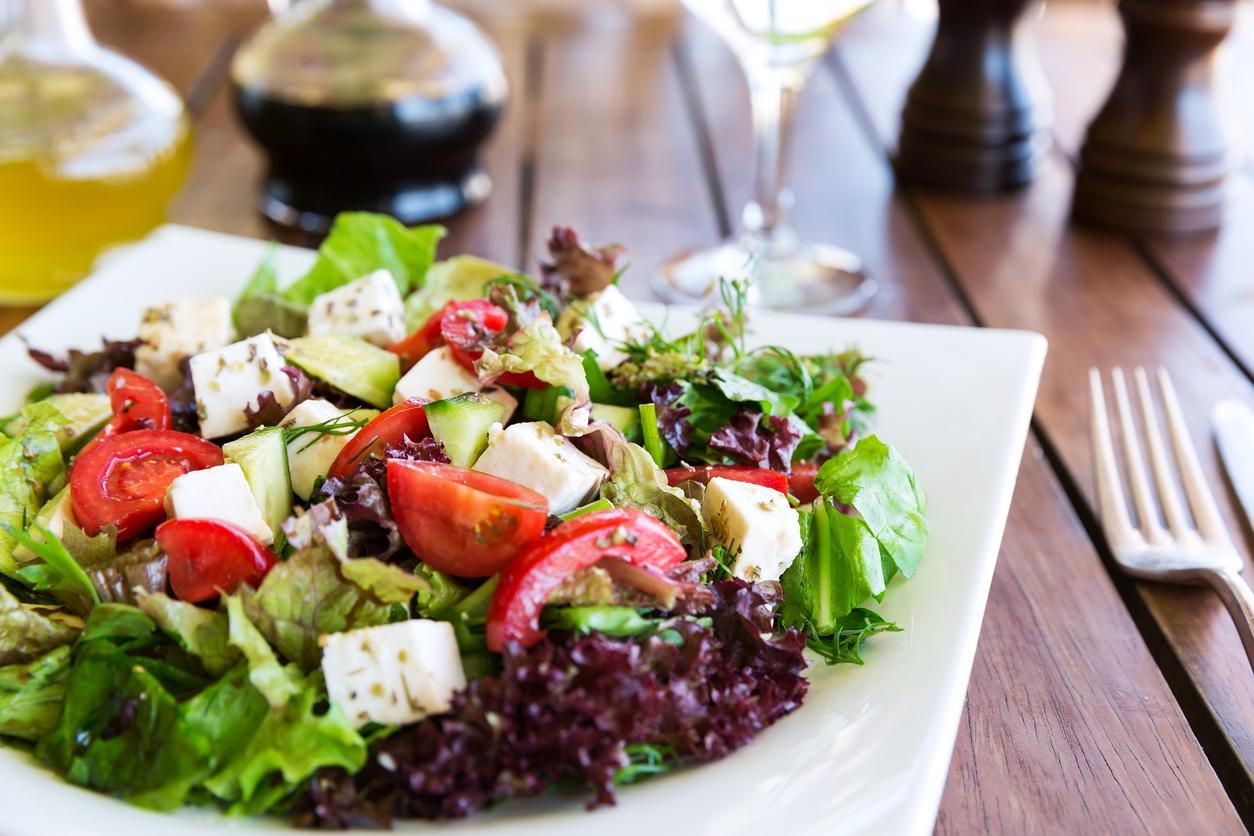 Big Green Salad w Almond Toast.jpg