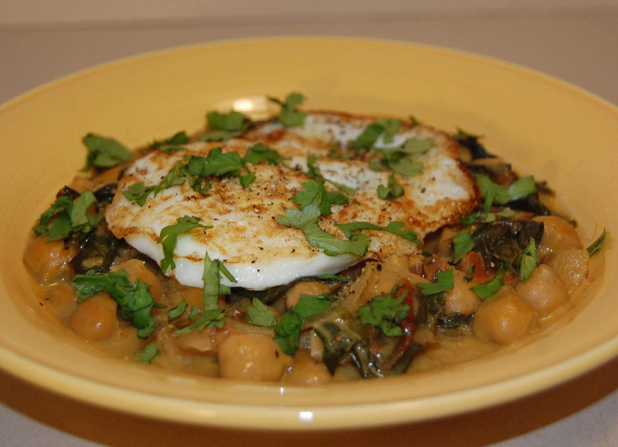 Stewed Chard & Chickpeas w Eggs.JPG