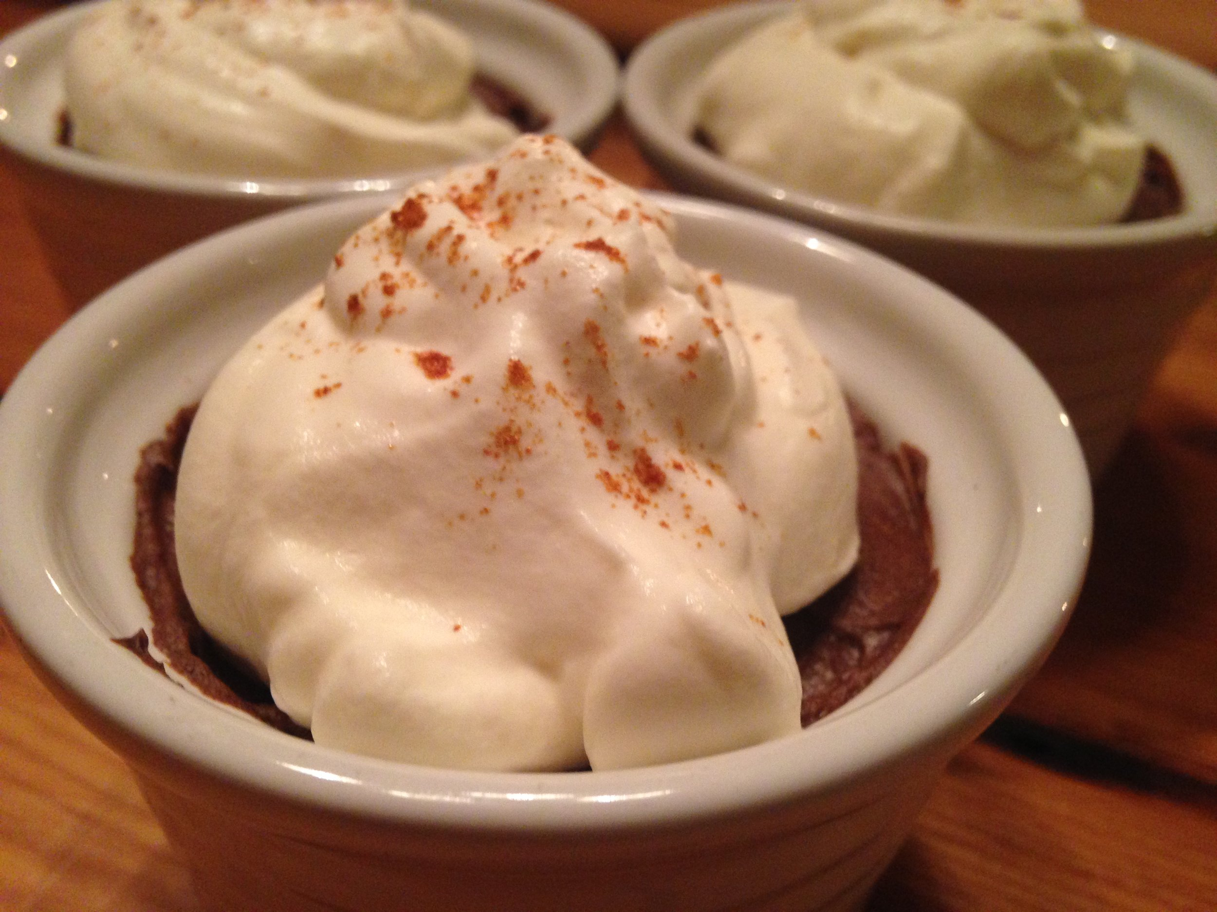 Chocolate Avocado Pudding w Whipped Coconut Cream.JPG