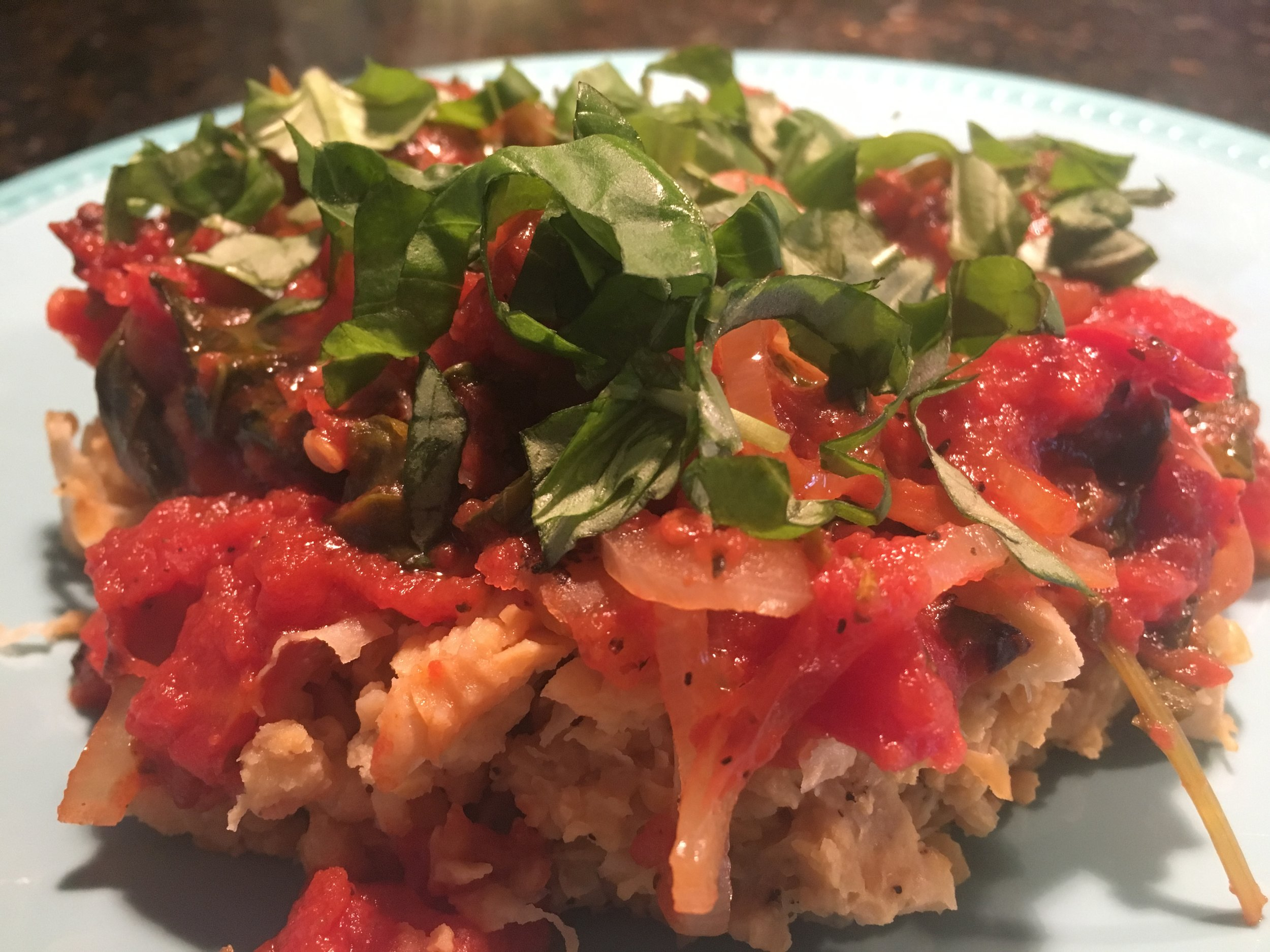 Chicken%2c Kale & Tomato Stew w Mashed Chickpeas.JPG