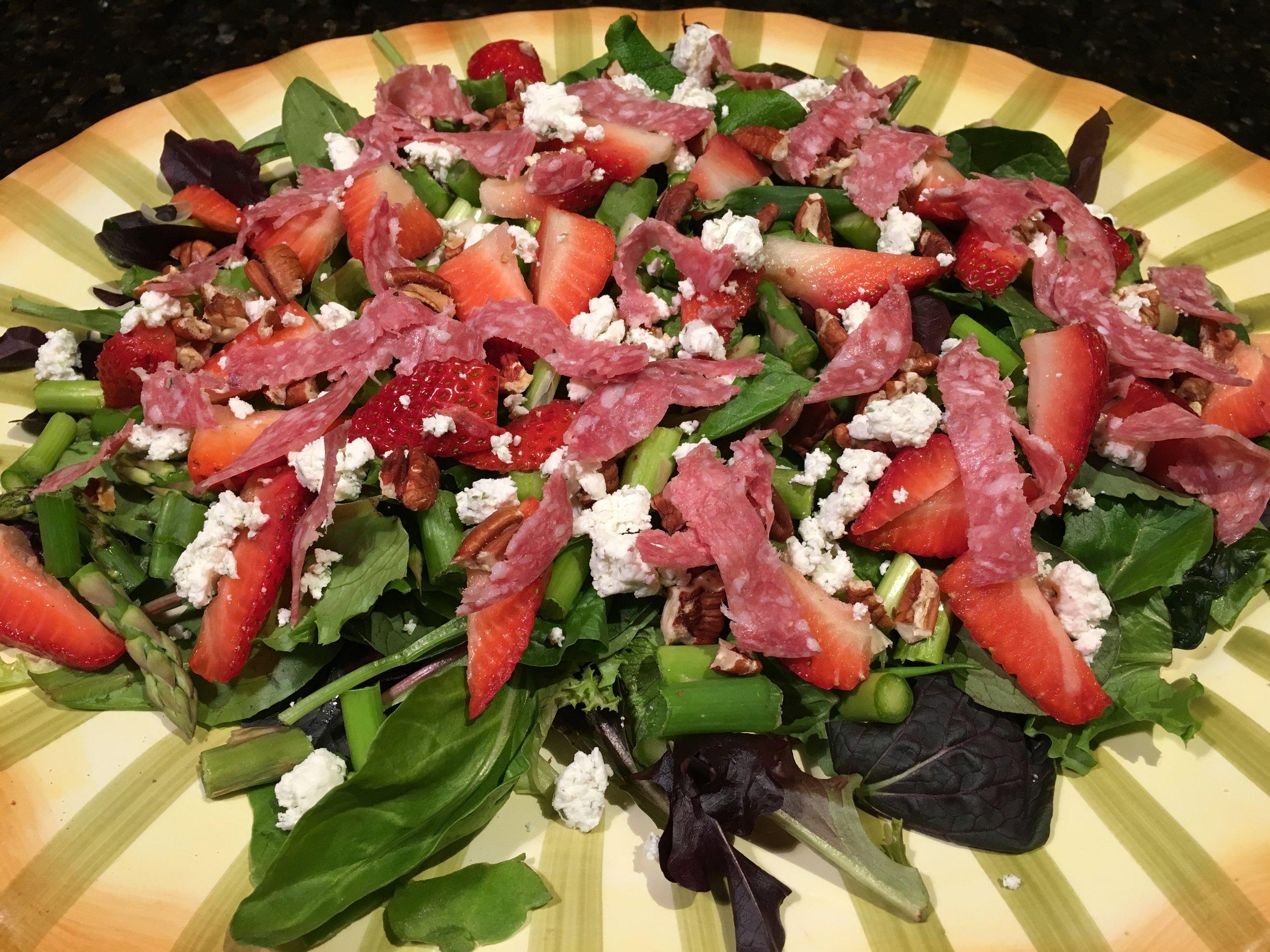 Spring Is Getting Closer! Salad.JPG