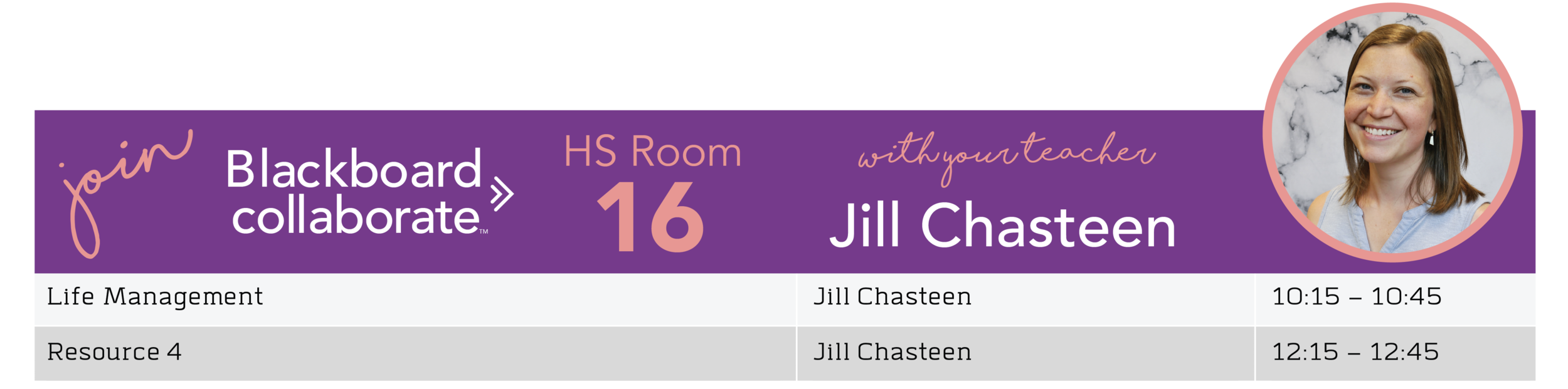 Jill Chasteen BB Room