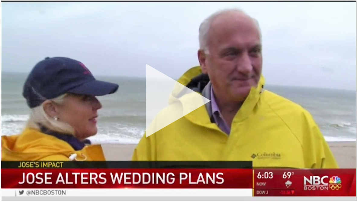 Tom and bride-to-be on TV.PNG