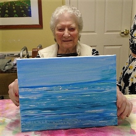 Ginny shares her artwork that was selected for ASHA's  The State of Seniors Housing 2017  report.