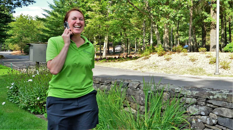 Jessica McGondel, owner of Tournament Headquarters, has helped coordinate the One Company Golf outings for seven years.