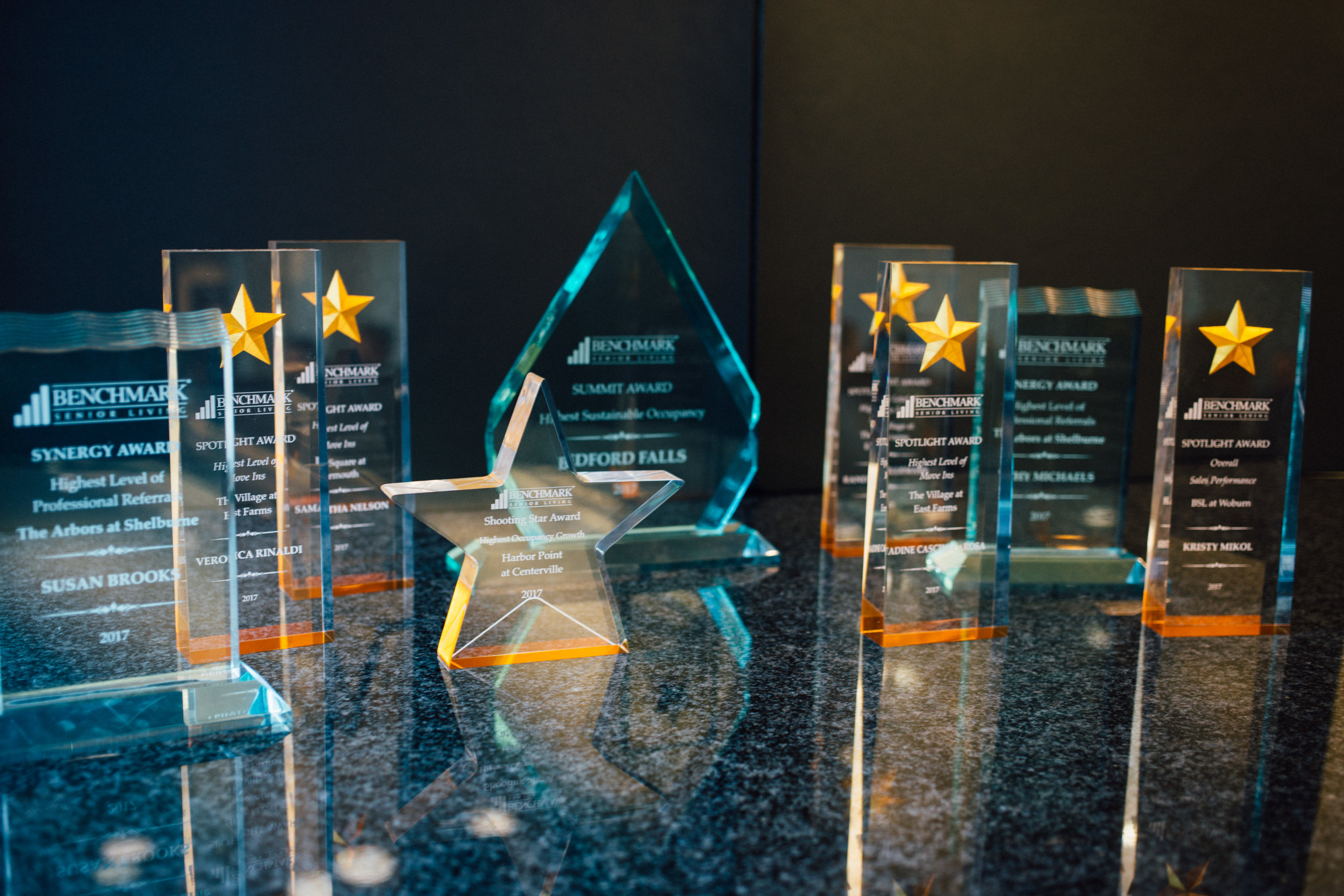 Congratulations to all of the Benchmark award winners!