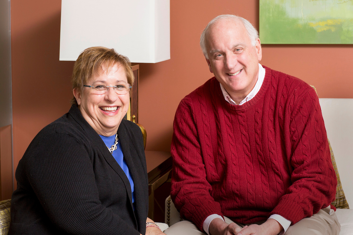 Executive Director  Terry Hornikel  and Benchmark Senior Living Chairman and CEO  Tom Grape