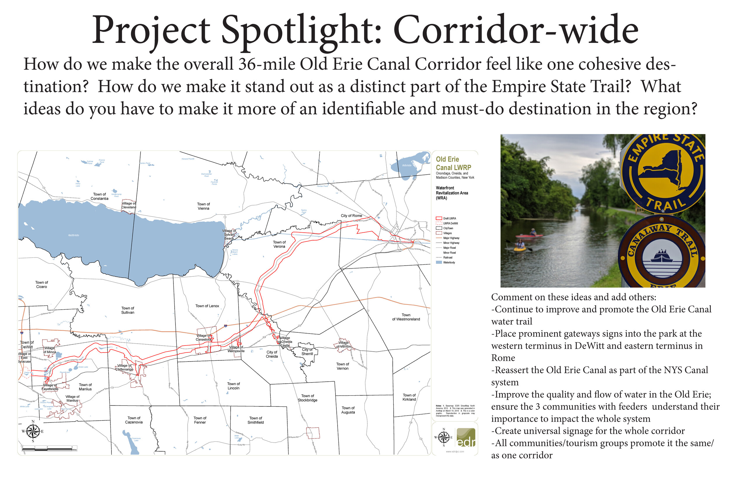 Corridor-wide projects -
