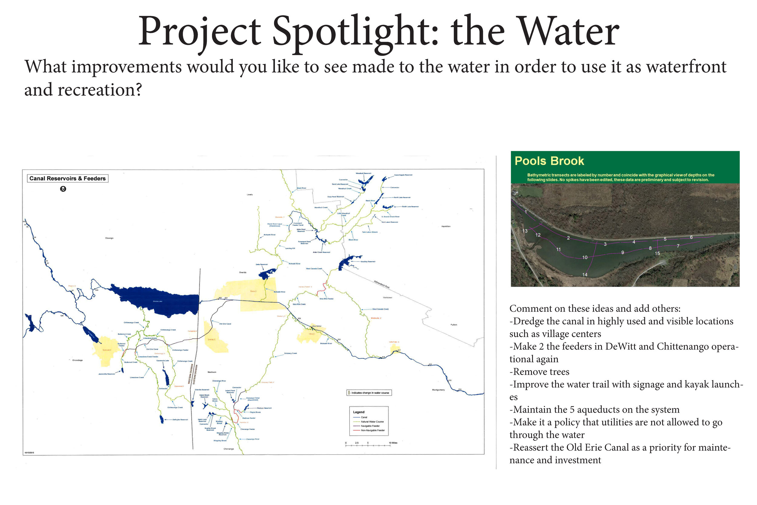 Water projects -
