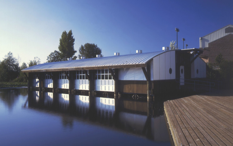 University of Washington, Coaches Boat House, Seattle Campus, by Miller Hull Partnership