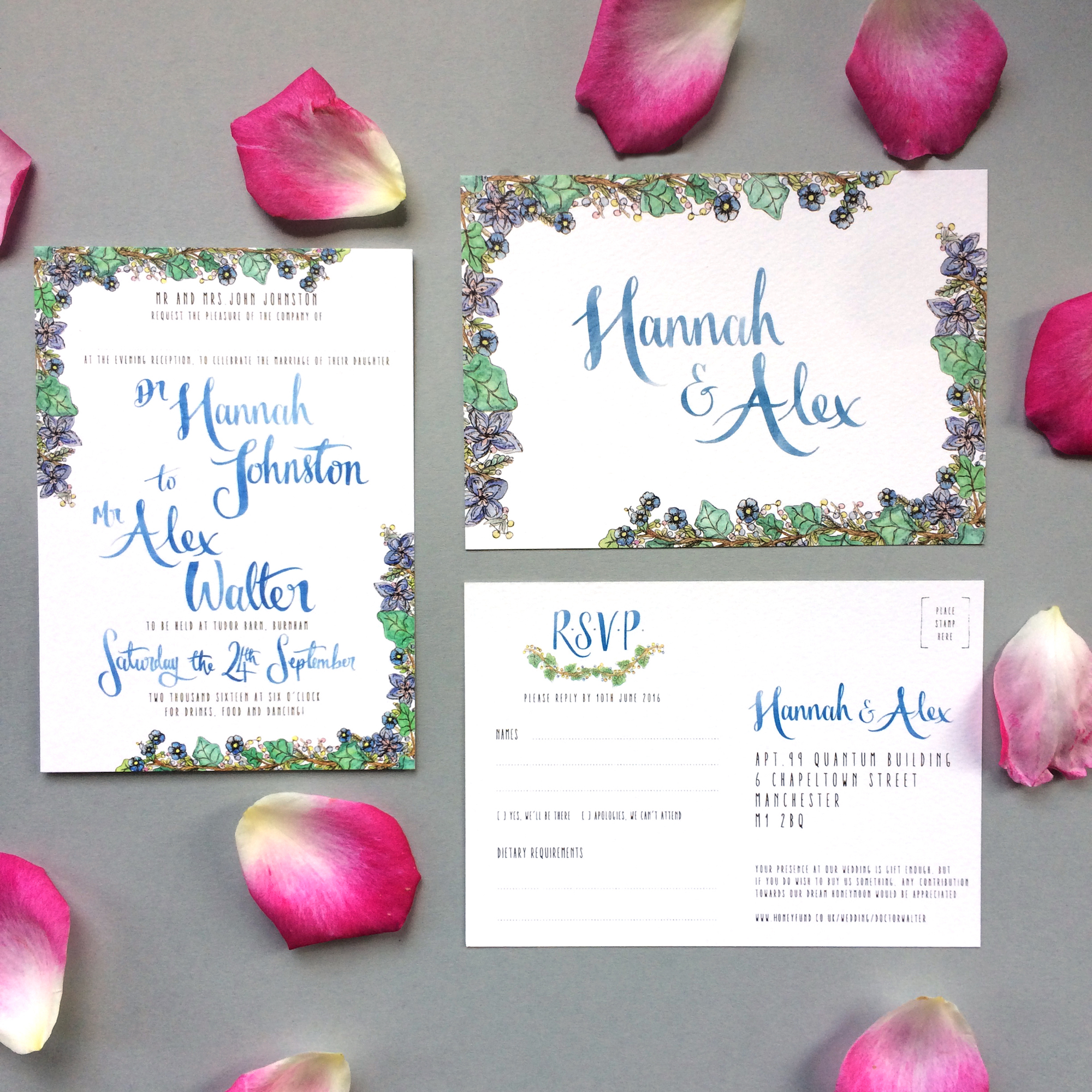 WEDDING STATIONERY -