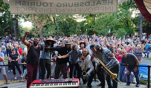 Healdsburg came out Love playing these early all-ages shows for the kids and families out there.