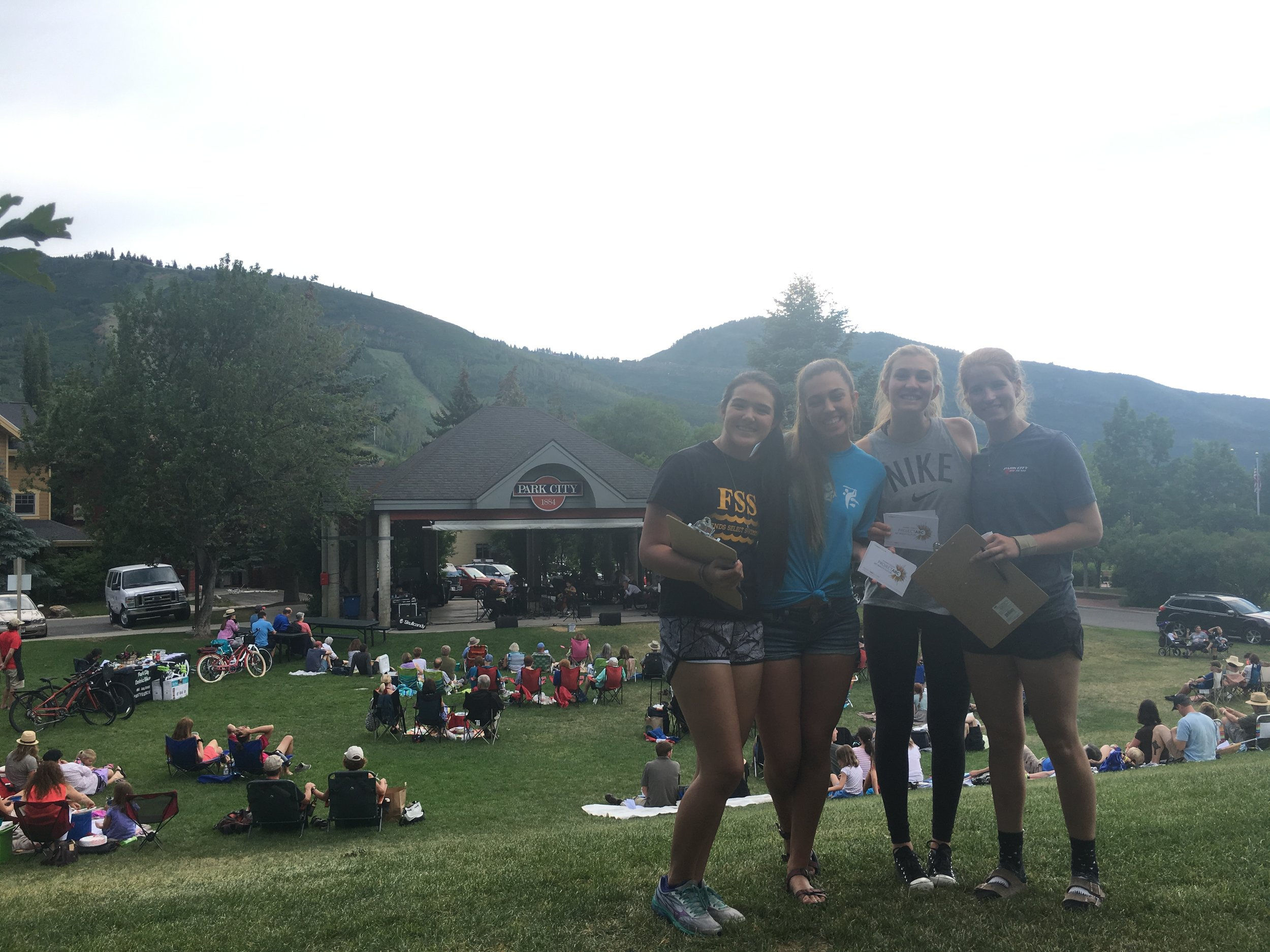 The third Youth Workgroup meeting was held at City Park in Park City on July 20, 2017. Our meeting was held alongside a Mountain Town Music concert.During our meeting, we discussed our definition of Arts and Culture and explored the idea that Arts and Culture are intrinsically tied to many aspects of life in Summit County. At the conclusion of our meeting the Youth Workgroup Members visited with patrons of the concert and spread the word about ProjectABC.