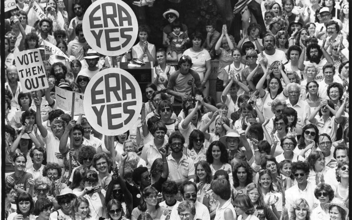 In 1982, about 7,000 Equal Rights Amendment supporters demonstrated in Raleigh.