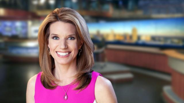 WRAL anchor Kathryn Brown