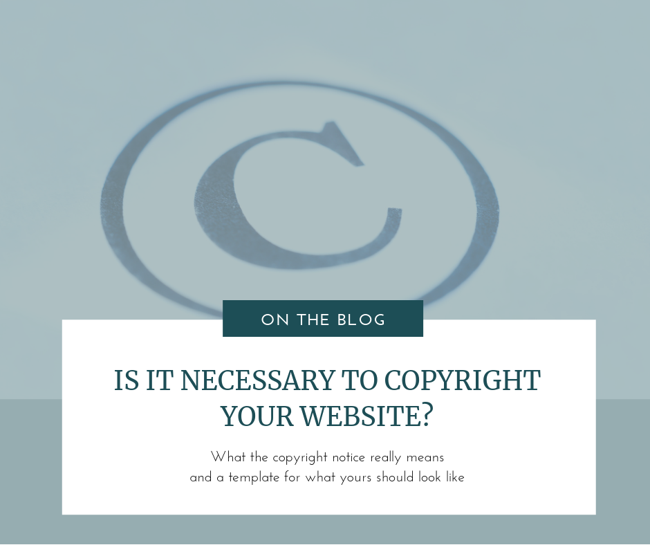 Copyright notices on your website One Nine Design.png
