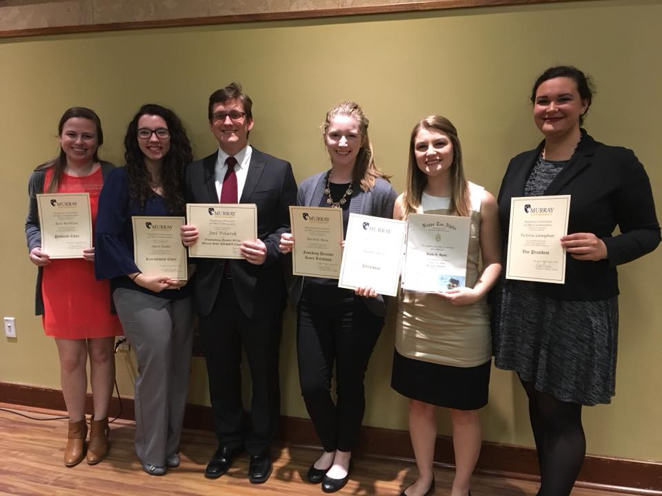 PRSSA Firm Director - During the 2018 Journalism Mass Communication Department Awards Banquet, my awesome team received recognition across several categories. I was given a certificate of recognition for being the Founding Director of Racer Relations.