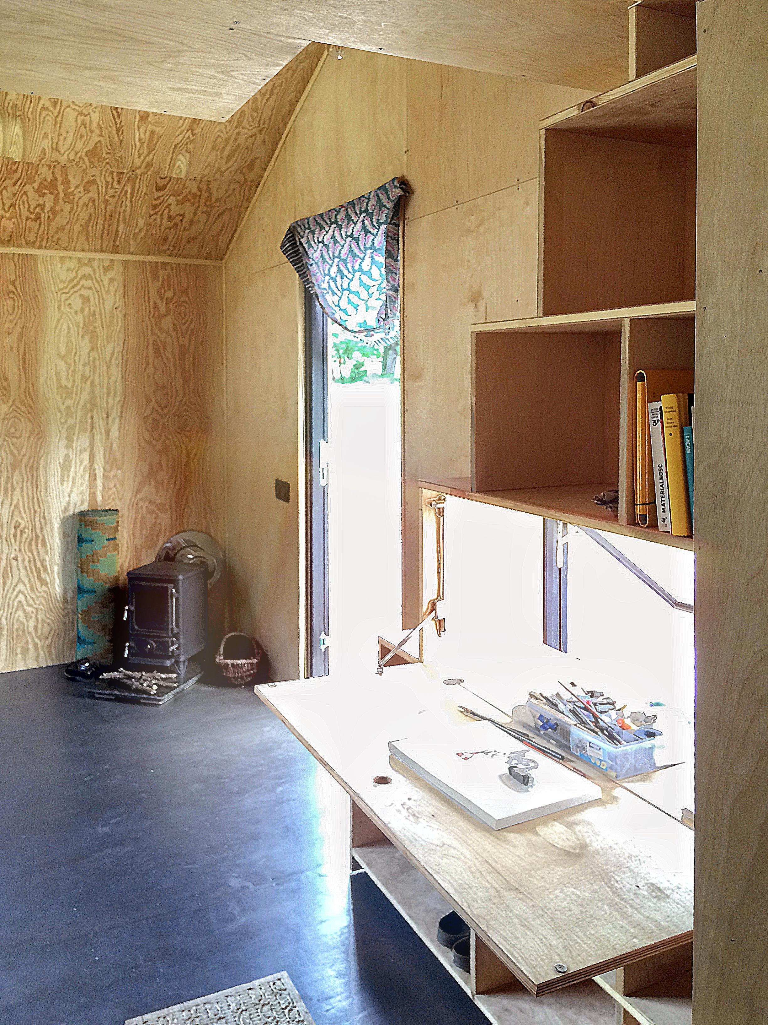 Przestrzeń w domach Redukt można dowolnie zaaranżować.