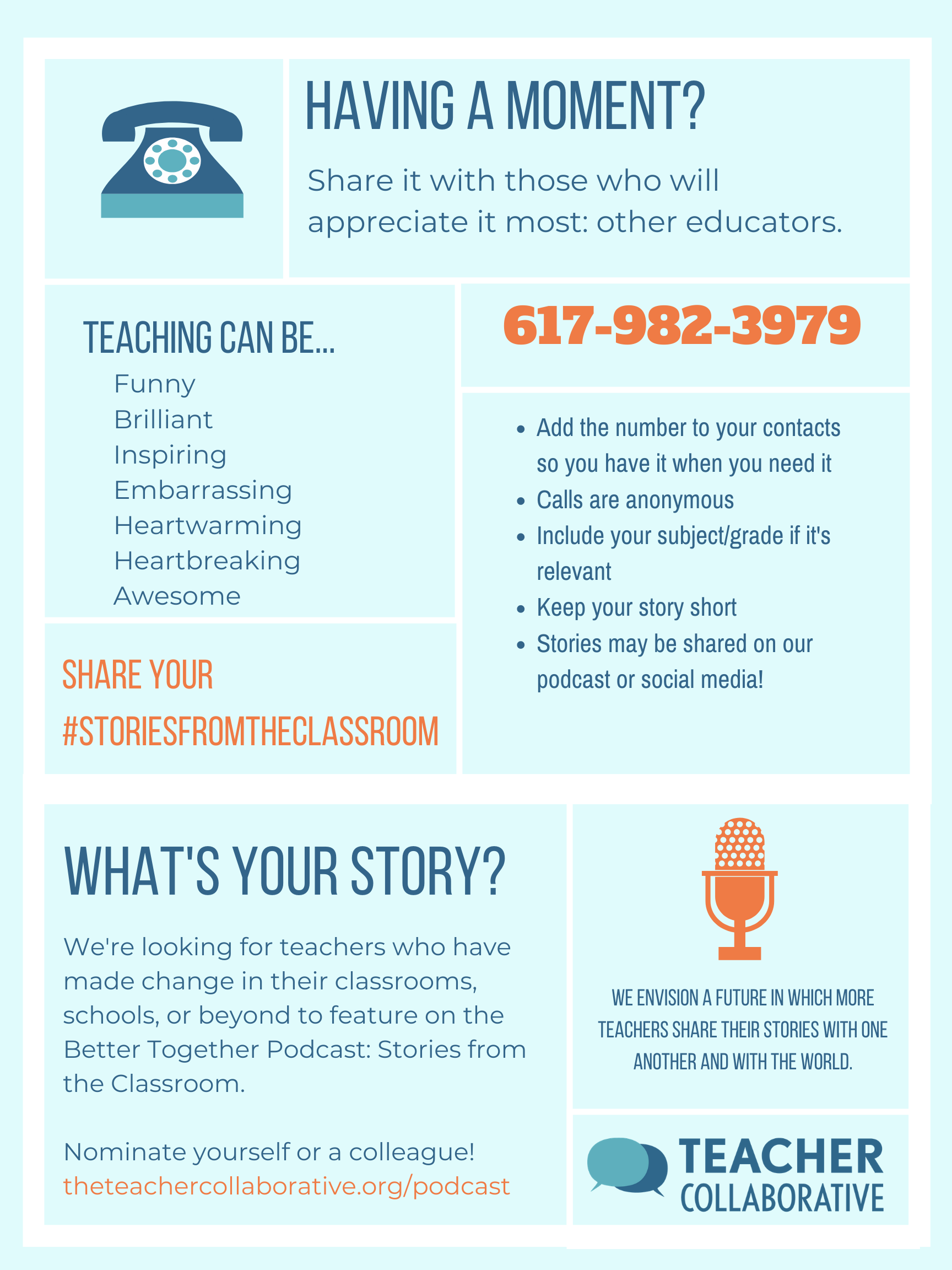 #Storiesfromtheclassroom flyer.png