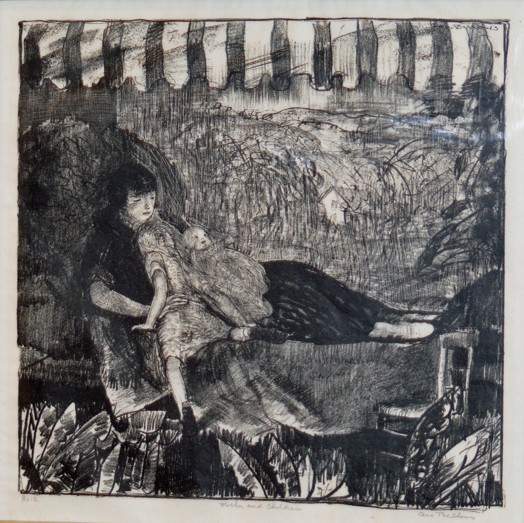 Art - George Bellows Lithograph Mother and Child.jpg