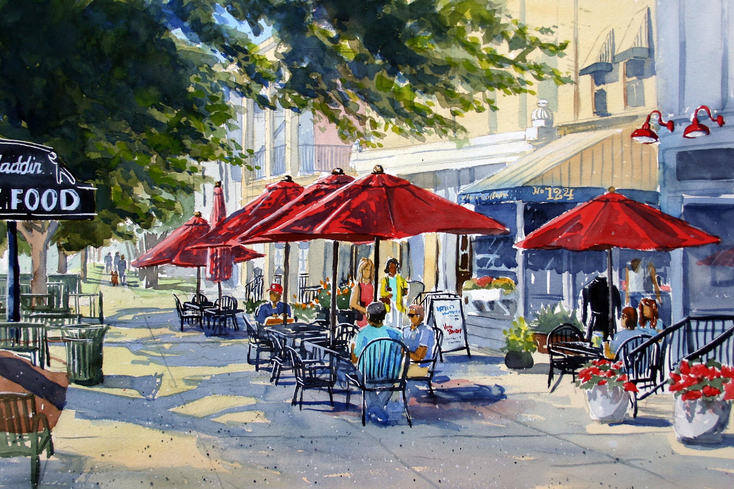 Summer Days - Granville Street Scene - Hi-Res from Robin Roberts.jpg