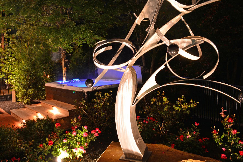 The Welsh Hills Inn - Spa Area with Mac Worthington Sculpture - 09-2014 - 010115.jpg