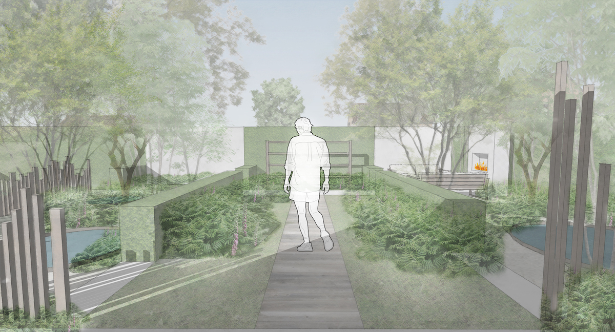 woodland garden design