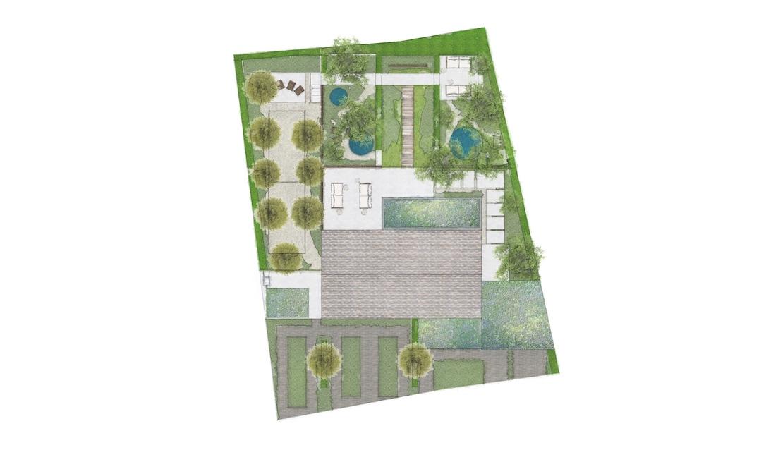 woodland garden plan