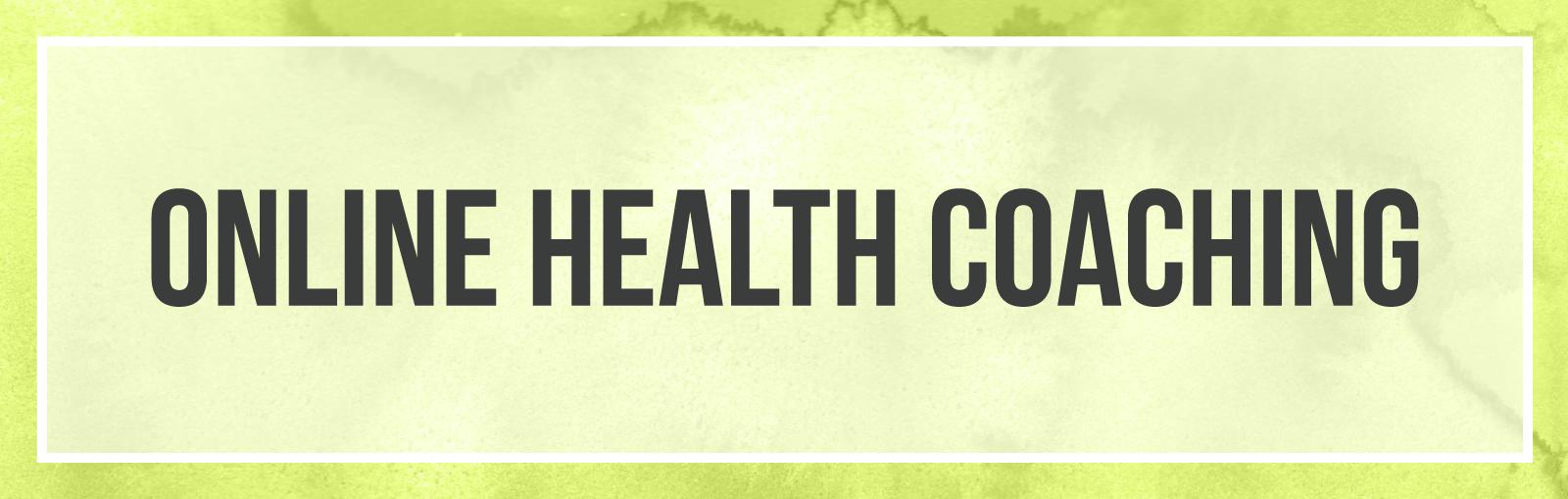 online health coaching by carolina barton