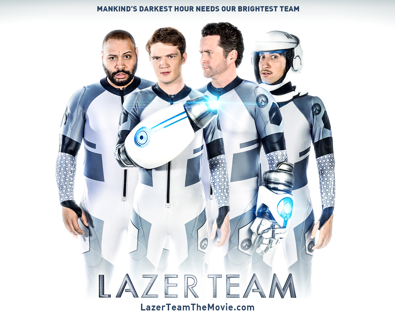 Lazer Team - The Rooster Teeth community successfully crowd-funded our first movie Lazer Team. With them, we hit our goal within 10 hours and raised $2.48 million by the end of the campaign.