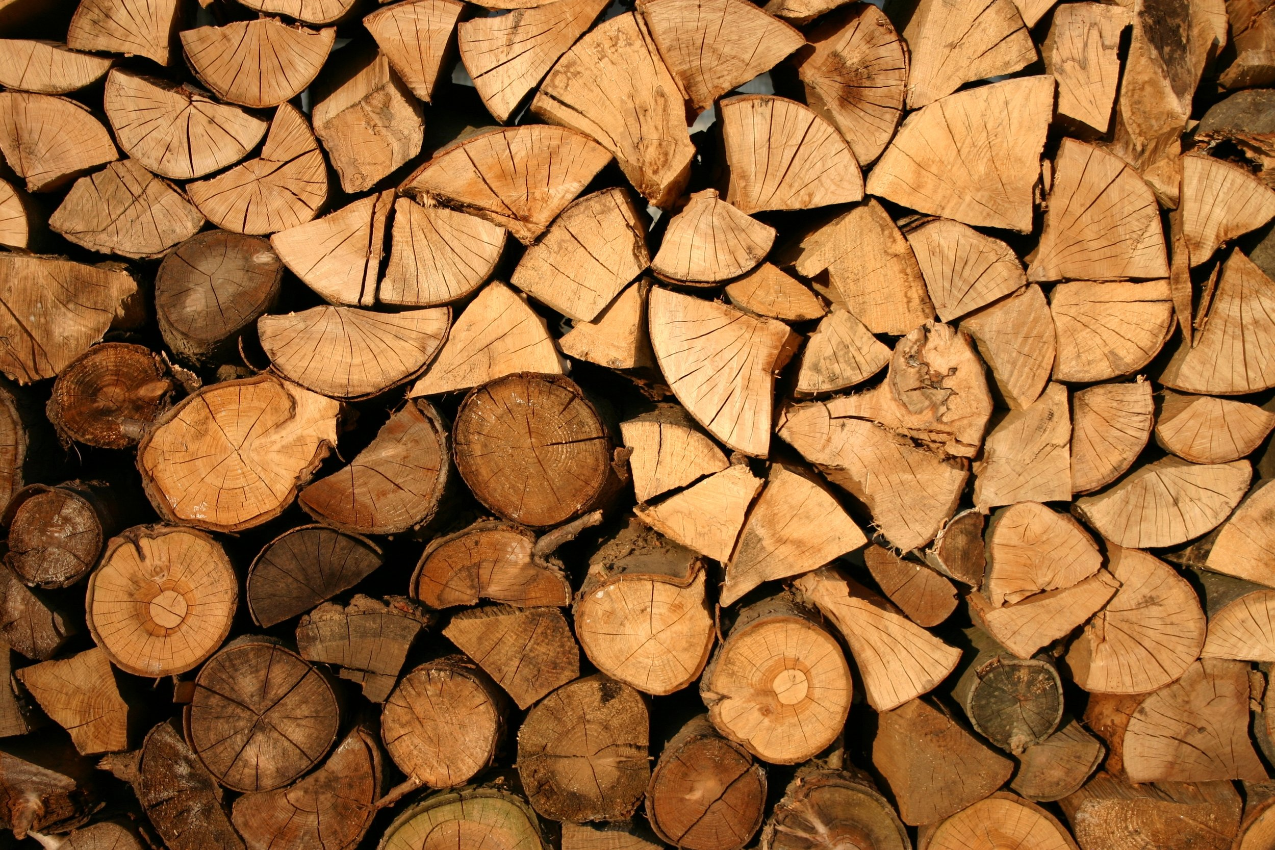 Limbwalkers offers responsibly-harvested firewood as part of its sustainable tree removal service.