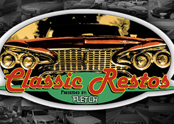 Classic Restos with Fletch: Fridays 8.30pm   Aussie car legend Fletch tours Australia, NZ and the US looking for the very best in cars from yesteryear